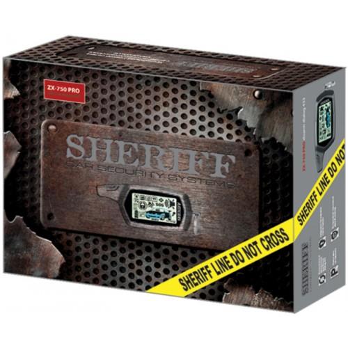 Автосигнализация Sheriff ZX 750 PRO