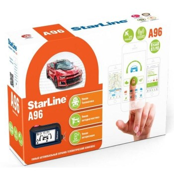 Автосигнализация StarLine A96 2CAN+2LIN GSM-GPS...