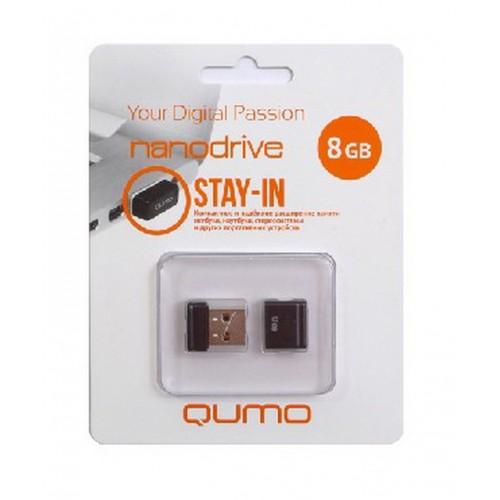 USB Flash накопитель QUMO  8 Гб Nano Drive Stay-in