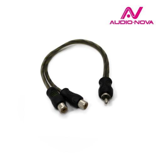 Разветвитель AudioNova RC1-1M2F (1папа/2мама) 1шт.
