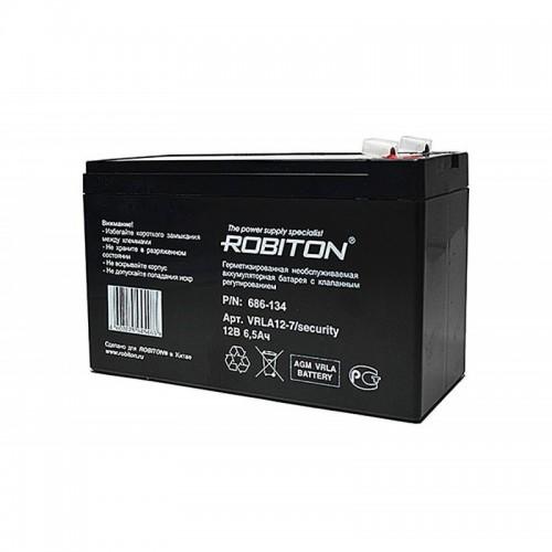 Аккумулятор Robiton VRLA12-7-S