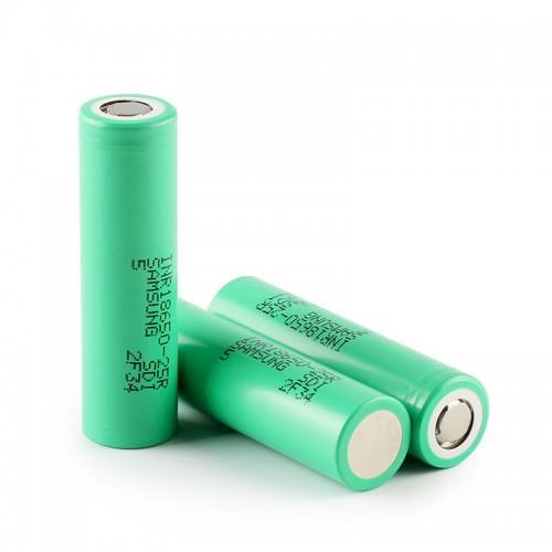 Аккумулятор Samsung INR18650-25R, 20А 2500mAh Li-Ion