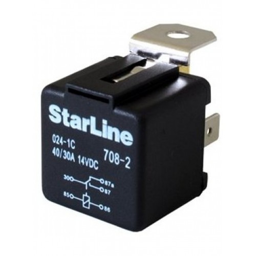Реле с колодкой StarLine 40a