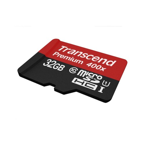 Карта памяти TRANSCEND Premium 400X 32 Гб Class 10 (без адаптера)