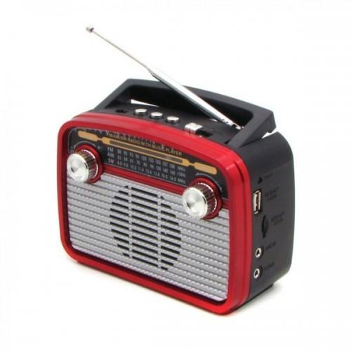 Радиоприемник Haoning HN-281UAT red