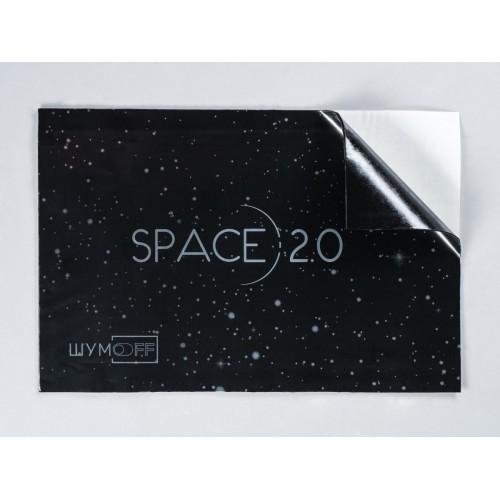 Виброизоляция Шумоff SPACE 2.0 ( 0,37 х0,27) 2mm (20 листов в пач