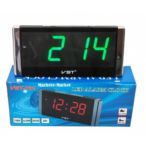 Электронные часы VST-731/4 Цвет - Зеленый