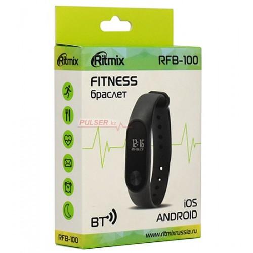 "Фитнес браслет Ritmix RFB-100, 0,42"" OLED, iOS, Android, Go"