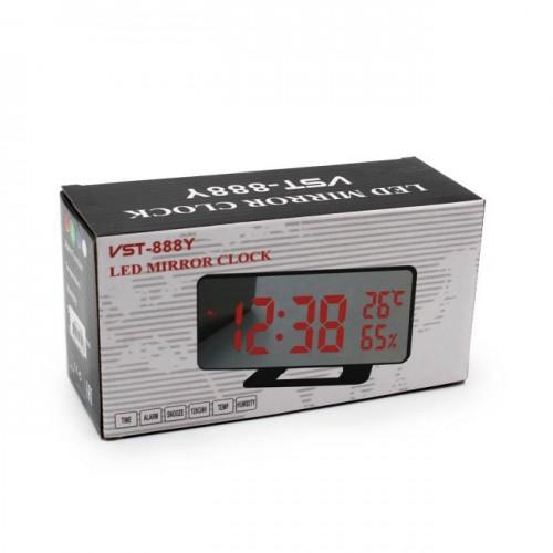 Электронные часы VST-888-Y (красная подсветка)