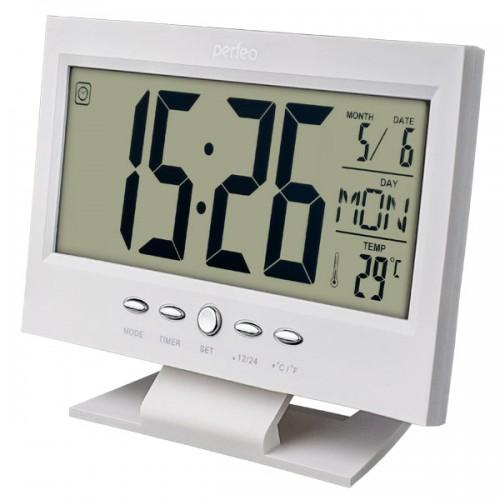 Электронные часы Perfeo Set PF-S2618, Цвет - Белый