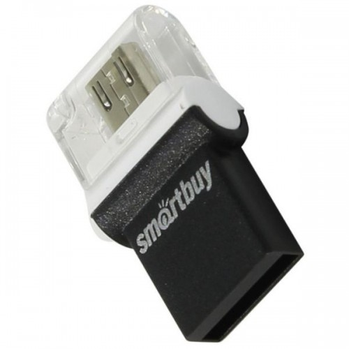 USB Flash накопитель SmartBuy POKO OTG 32GB чёрный