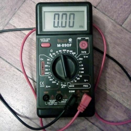 Мультиметр Мастер Professional M890F