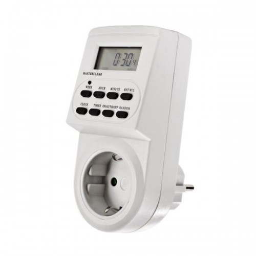 Таймер электронный GoPower Timix 04 16A 3600W 7дн/24ч/1мин