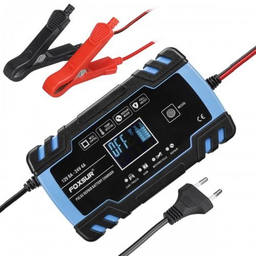 Зарядное устройство Foxsur FBC-122408D (12V8A; 24V4A).
