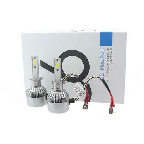 LED лампы головного света Protek С6 Н4 БИ...