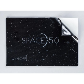 Виброизоляция Шумоff SPACE 5.0 ( 0,37 х0,27) 5mm (10 листов в пачке)