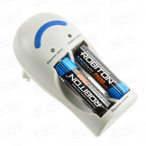 Зарядное устройство Robiton SF250-4 (2-4 АА/ААА, 250мА) (1) (10)