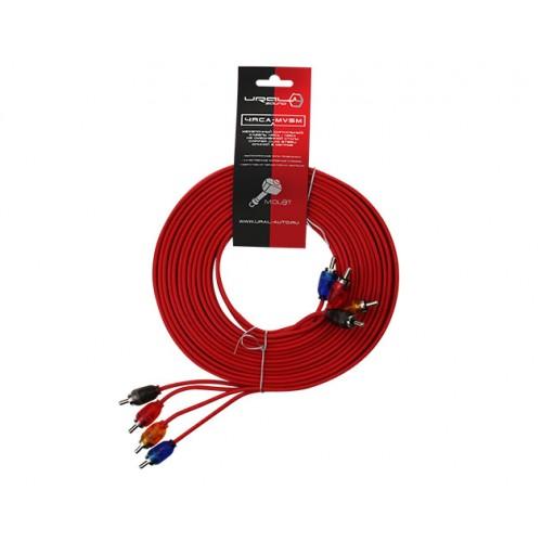 Межблочный кабель Ural RCA-MV5M
