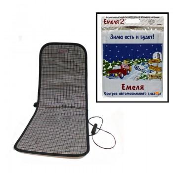 Накидка c обогревом сидения Емеля-2 (1 шт)