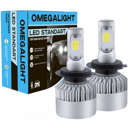 LED лампы головного света Omegalight Standart HB4