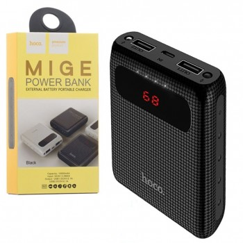 Power bank Hoco B20 10000mAh, 2USB, 2.1A bl/wh