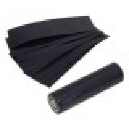 Набор термоусадки PVC 18650-Black/10 BL1  Нарезанная под аккумуля