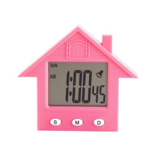 Электронные часы домик магнитный от 2*LR44