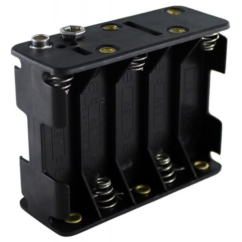 Отсек для элементов питания ET AA 10S1P-L1-W с проводами 1 / 4 /