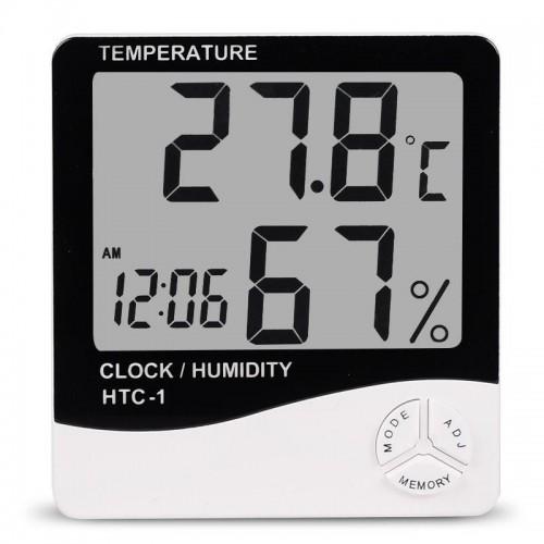 Термометр HTC-1 (Out/In, clock)
