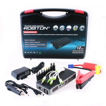 Универсальный внешний аккумулятор Robiton Emergency Power Set с функцией запуска двигателя