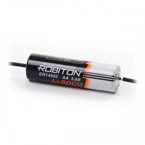 Элемент питания Robiton ER 14505-AX LSC2400-AA-axial* -3.6V с акс...