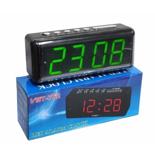 Электронные часы VST-762/4 Цвет - Зеленый