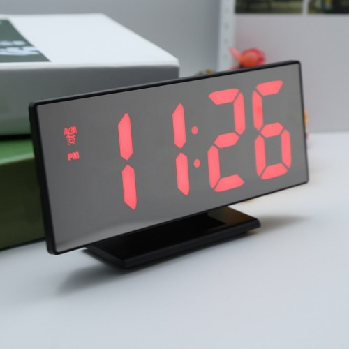 Электронные часы DS-3618-L (красная подсветка)...