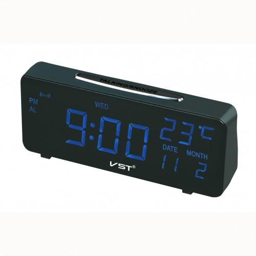 Электронные часы VST-763W/5 Цвет - Синий