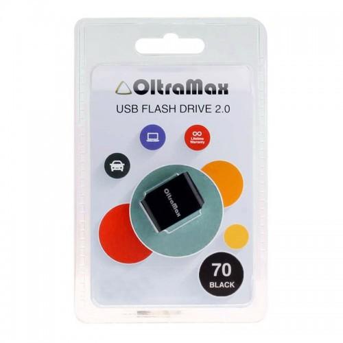 USB Flash накопитель OltraMax 8GB 70 чёрный