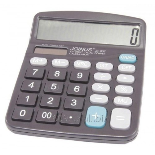 Калькулятор настольный JS 837C