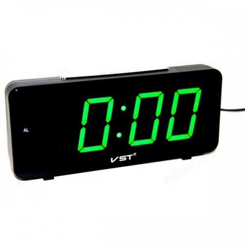 Электронные часы VST-763/4 Цвет - Зеленый