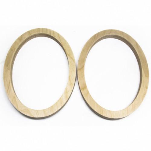 Простав. кольца Skill - 6х9  фанера. (пара)