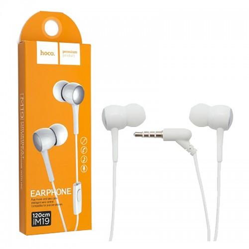 Гарнитура Hoco M19, Drumbeat, микрофон, кнопка ответа, кабель 1.2