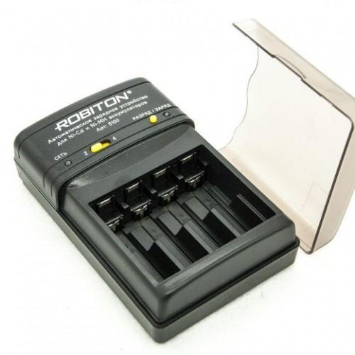 Зарядное устройство Robiton Smart S100 (2-4AA/AAA, 800mA, AUTO, ф