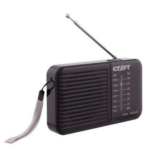 Радиоприемник Старт 001 Black расширенный FM, AM, порт для наушни