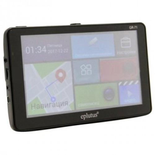 Комборегистратор Eplutus GR-71 GPS-Навигатор + видеорегистратор +