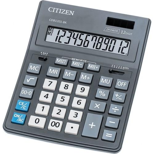 Калькулятор настольный Citizen CDВ1201 черный 12-разр