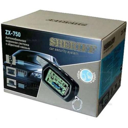Автосигнализация Sheriff ZX 750 CLASSIC (1 брелок)