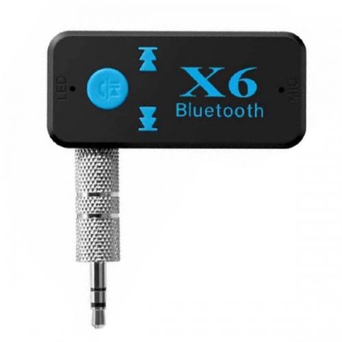 Беспроводной приемник адаптер Bluetooth X6 AUX/microSD