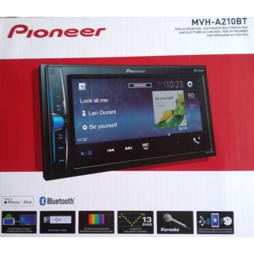 Мультимедийный центр Pioneer MVH-А210BT