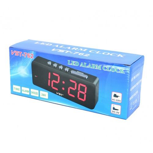 Электронные часы VST-762/1 Цвет - Красный