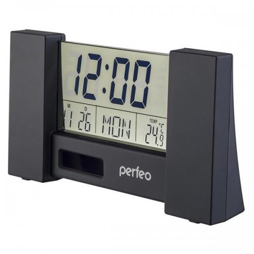 Электронные часы Perfeo Сity PF-S2056, Цвет - Черный