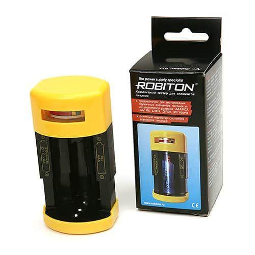 тестер для элементов питания Robiton BT-1