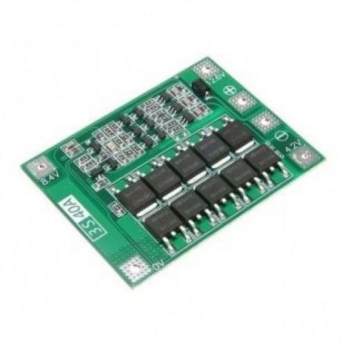 Плата контроля заряд/разряд 3SBLi-40A4060  3S 40A Li-Ion Balanced